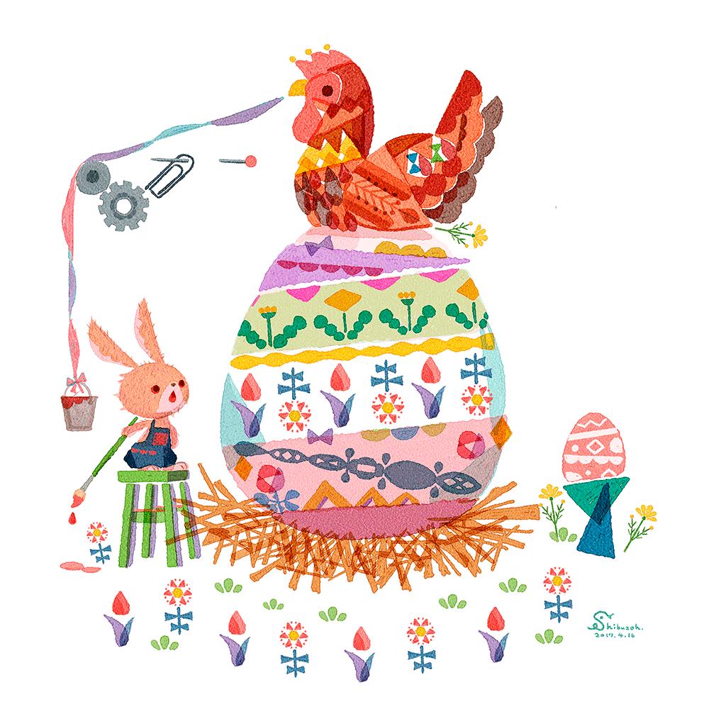 おおきな卵とイースター