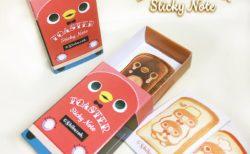 【11/12完成版更新】TOASTER Sticky Note