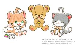 『ネコ・トモ』コンテンツ/グッズ展開用アート
